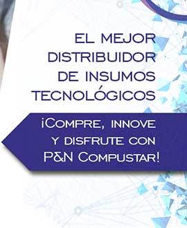 Pyncompustar, distribuidor de insumos para tecnología