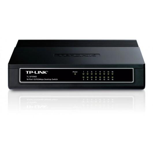 Switch Tp-link 16 Ptos 10/100 Tl-sf1016d