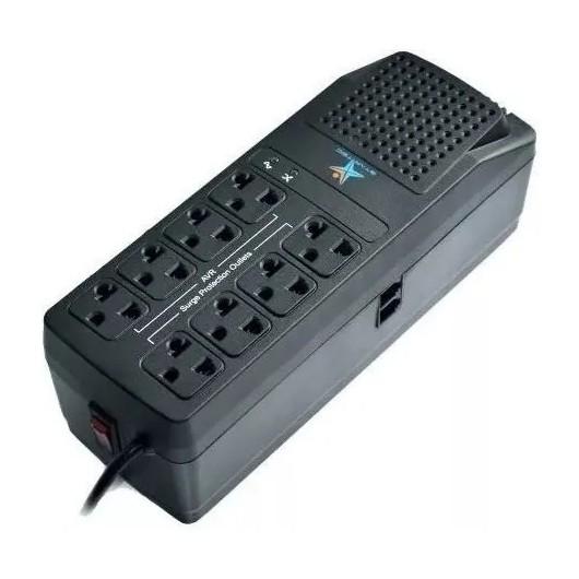 Regulador Star Tec 600 Va 8 Tomas Startec