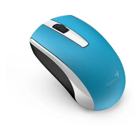 Mouse Inalámbrico Ecologico Recargable Genius Eco-8100 Blanc